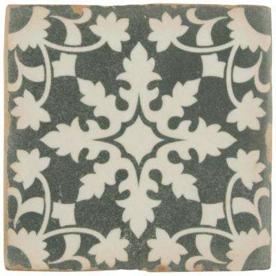 Archivo Zahra Encaustic 4-7/8 in. x 4-7/8 in. Ceramic Floor and Wall Tile (5.9 sq. ft. / case)