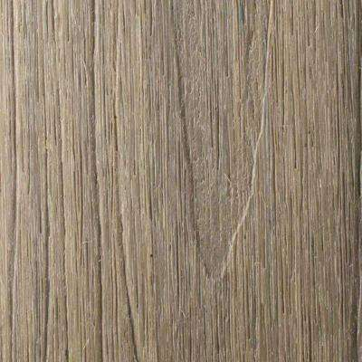 Naturale Magellan Series 1 in. x 5-1/2 in. x 0.5 ft. Roman Antique Composite Decking Board Sample with Groove