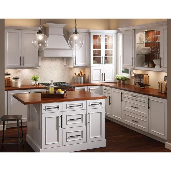Reviews For Kraftmaid 15x15 In Cabinet Door Sample In Fox Hill Maple Square In Dove White Rdcds Hd Ab9m4 Dwm The Home Depot