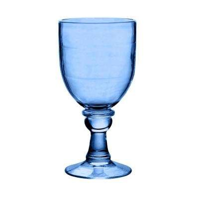 18.4 oz. 6-Piece Cordoba Soft Blue Goblet Set