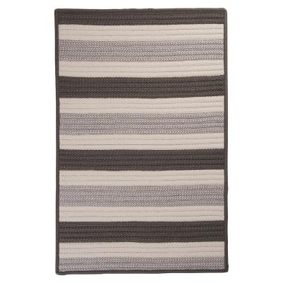 Baxter Silver 12 ft. x 15 ft. Braided Indoor/Outdoor Area Rug