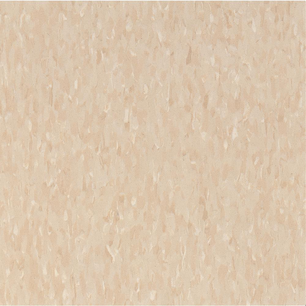 Imperial Texture VCT 12 in. x 12 in. Brushed Sand Standard