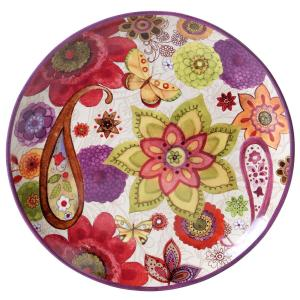 Coloratura Round Platter by