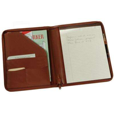 Executive Zippered Writing Portfolio Organizer