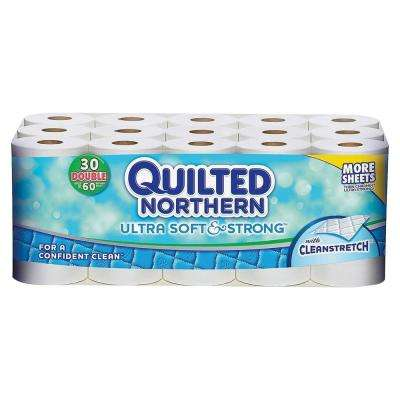 White Bathroom Tissue 2-Ply (30 Roll)