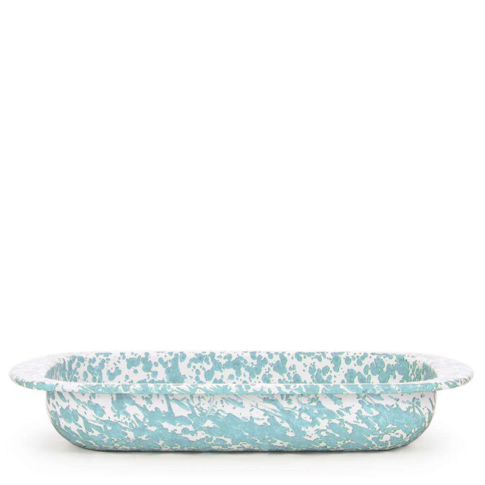 Golden Rabbit Sea Glass 4 5 Qt Enamelware Baking Pan Gl78