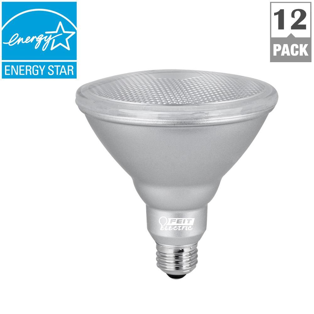90W Equivalent Warm White (3000K) PAR38 Dimmable LED Weatherproof Spot Light