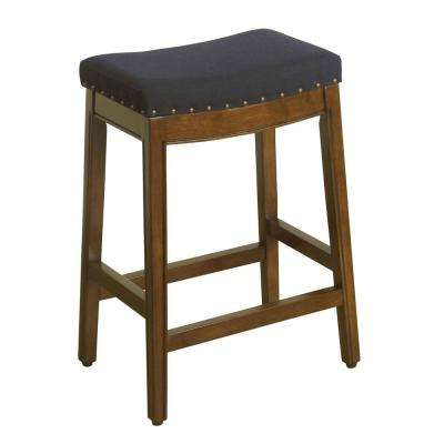 Aqua Textured Bar Stool