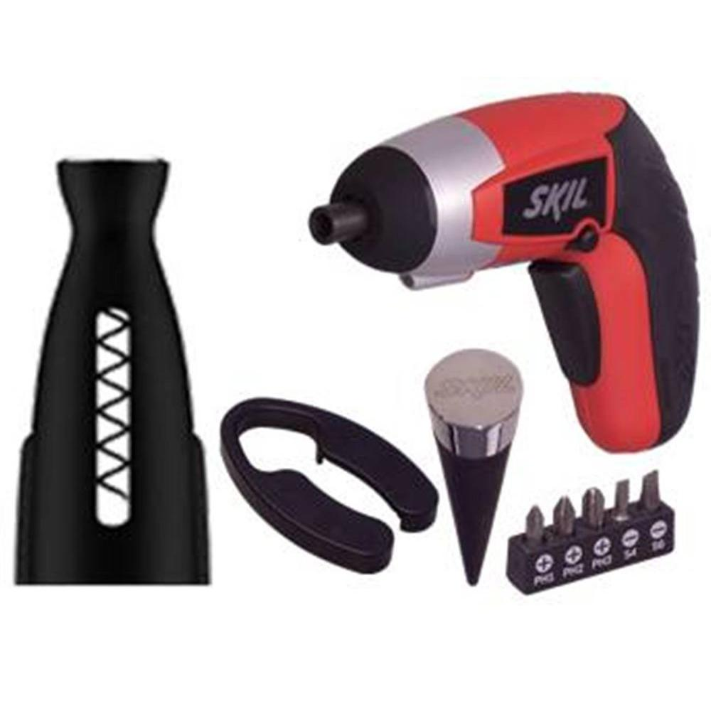 Skil 4 Volt iXO Vivo Power Cork Screw Drill Kit with LED Light