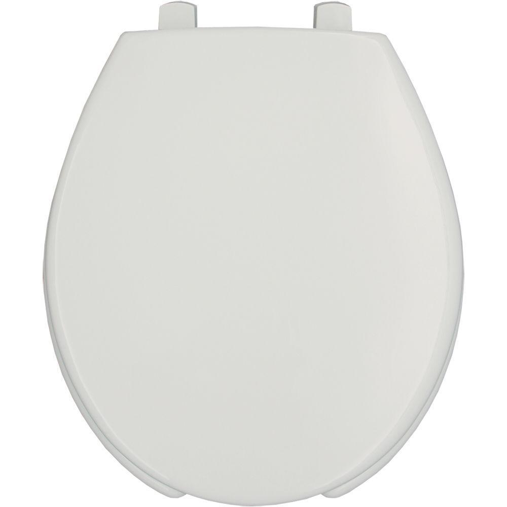 bemis raised toilet seat. BEMIS STA TITE Round Open Front Toilet Seat in White 7750TDG 000