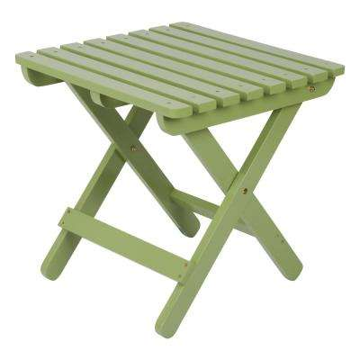 Leap Frog Adirondack Square Folding Outdoor Side Table