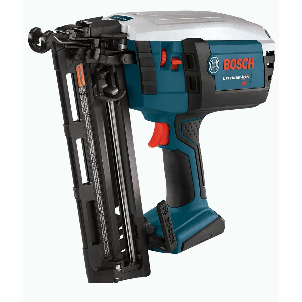 Bosch 18 Volt Lithium-Ion Finish Nailer Bare Tool-DISCONTINUED