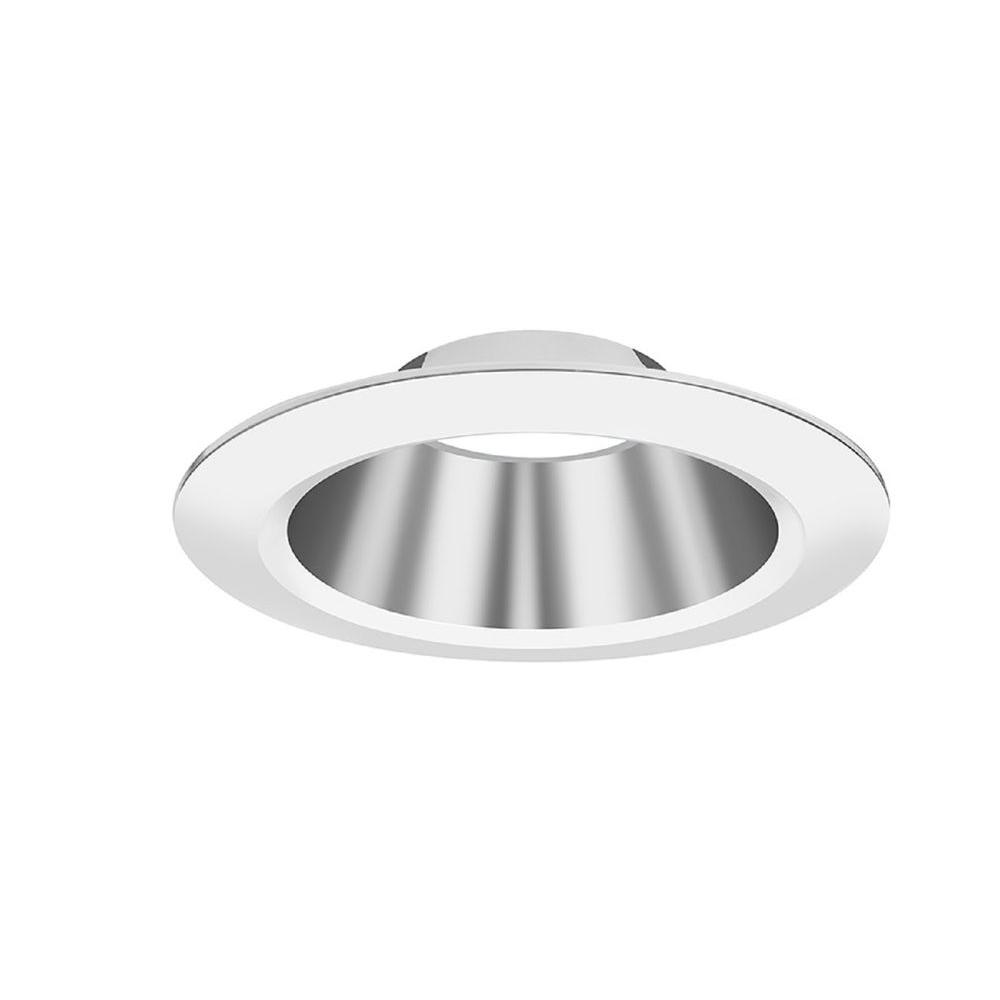 Lithonia Lighting RV 8 in  Open Semi-Specular Clear LED Downlighting Trim