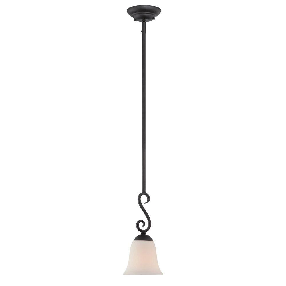 capri blackened oil rubbed bronze 12inch onelight small flus