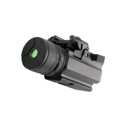 Adjustable 5mW 650nm Green Laser for Rail-Equipped Pistols and Long Guns