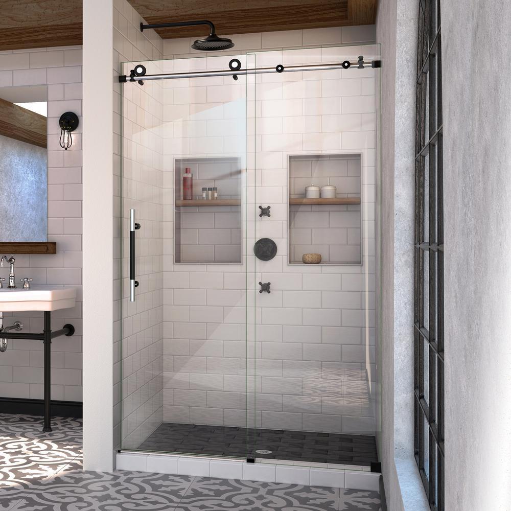 Dreamline Encore 48 In X 76 In Frameless Sliding Shower