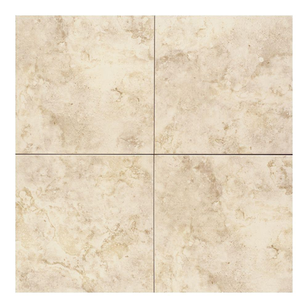 Daltile Brancacci Windrift Beige 18 in. x 18 in. Glazed Ceramic Floor and Wall Tile (18 sq. ft. / case)-DISCONTINUED