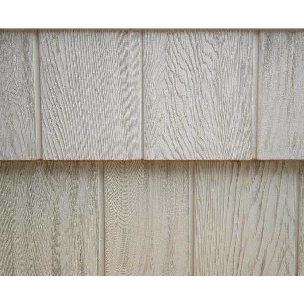 8-1/2 in. x 60-3/4 in. Mountain Ash Engineered Rigid PVC Shingle Panel 7.5 in. Exposure (32 per Box)