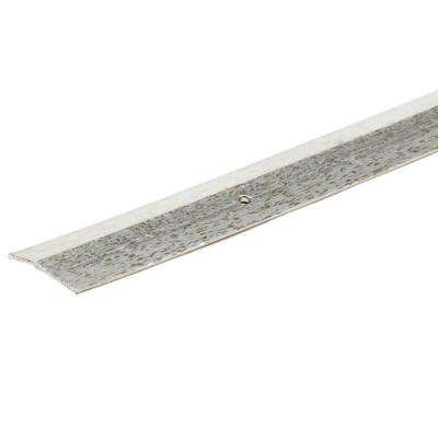 Silver Hammered 144 in. x 1-3/8 in. Carpet Trim