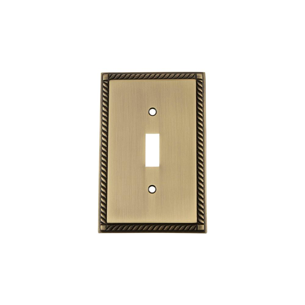 Brass - Rocker Switch Plates - Switch Plates - The Home Depot