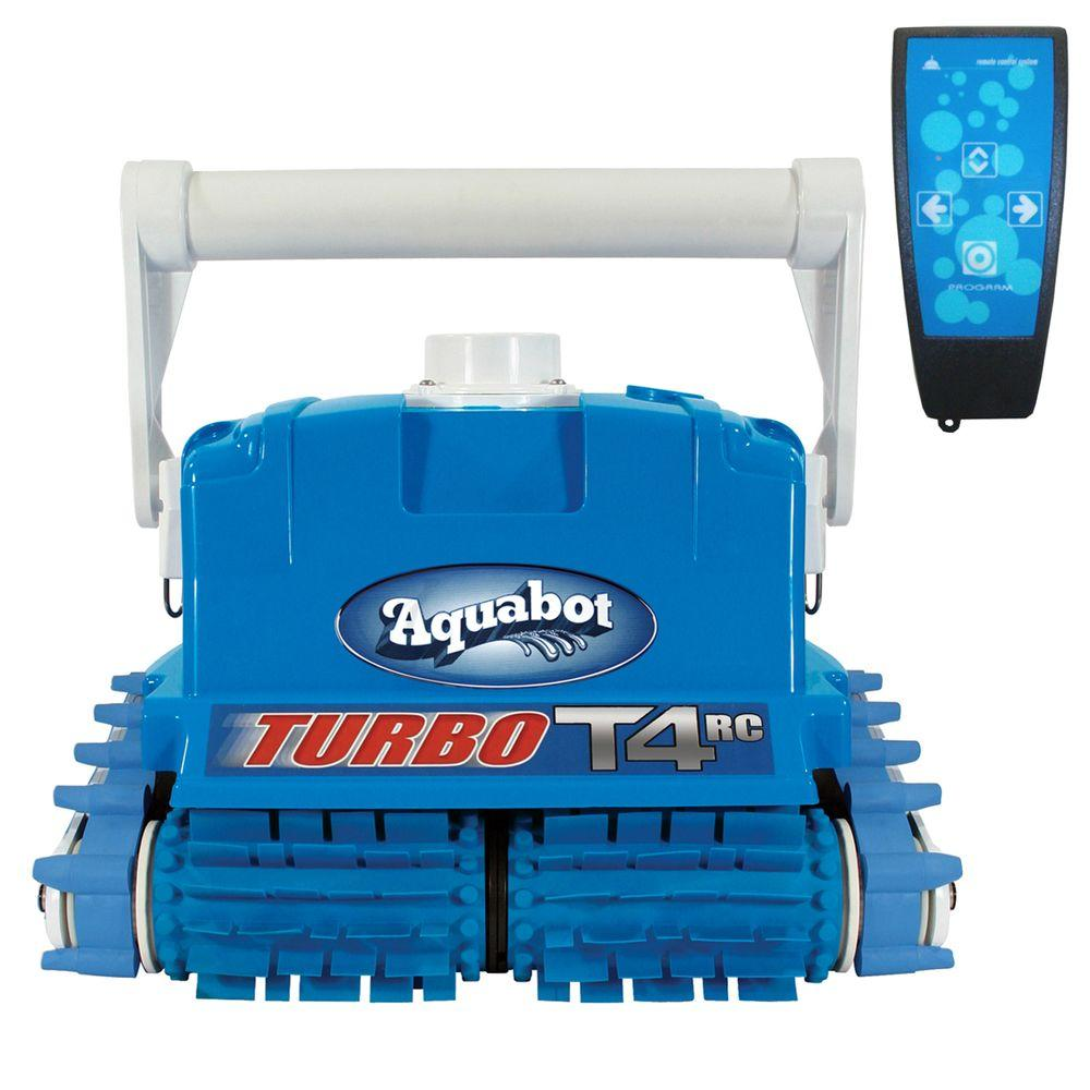 Aquabot Turbo T4-RC Cleaner with Caddy for In-Ground Pools