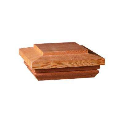 Hampton 4 in. x 4 in. Cedar Flat-Top Post Cap