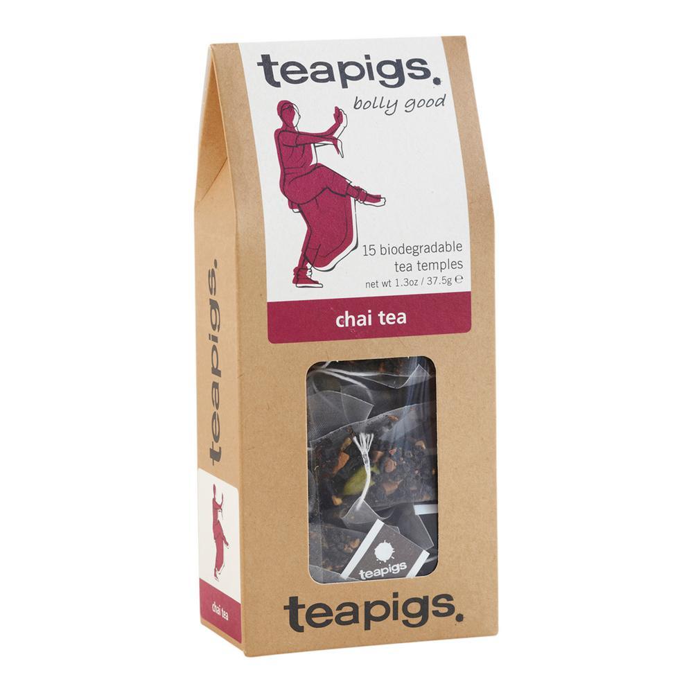 Chai Tea Bags 15 Temples Tea Bags (6-Boxes)