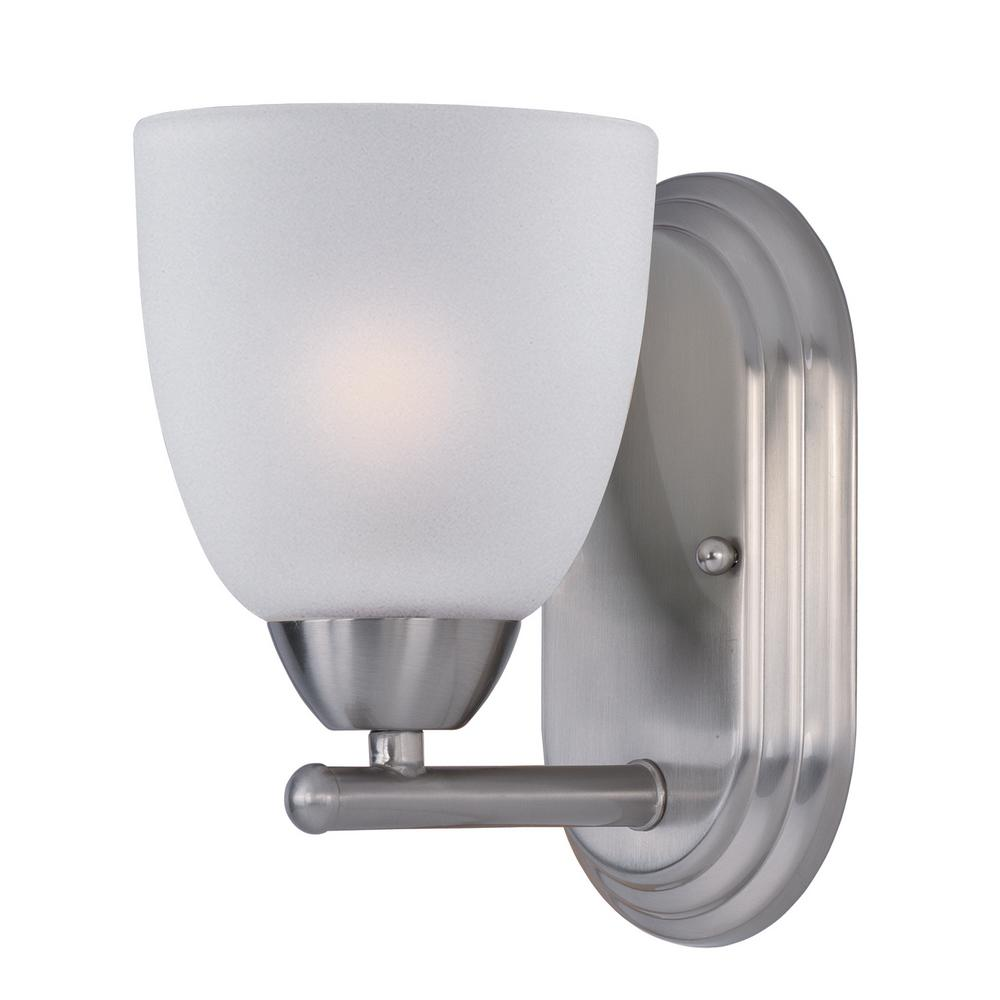 Axis 1-Light Satin Nickel Wall Sconce