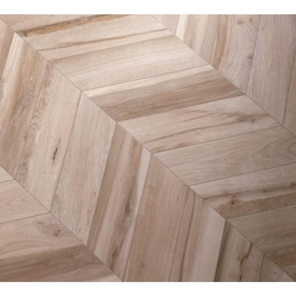 Solorez Avana Chevron 8 in. x 32 in. 9mm Matte Porcelain Tile (6-piece / 8.82 sq. ft. / box)