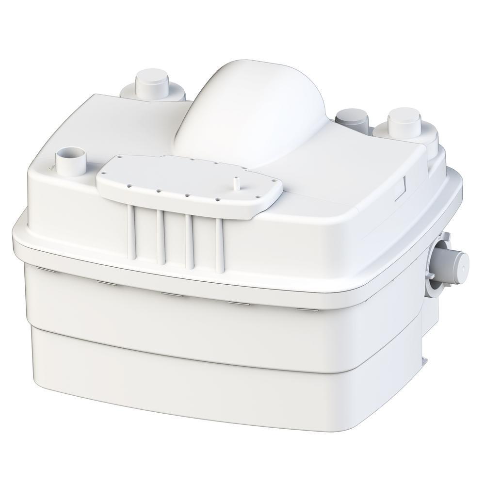 Saniflo SaniCubic 2 1HP 220/240-Volt Grinder Pump