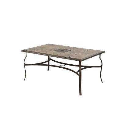 Person Steel Metal Patio Furniture Patio Tables Patio - Rectangular metal patio dining table