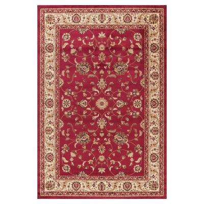 Jewel Marash Red 5 ft. x 8 ft. Area Rug