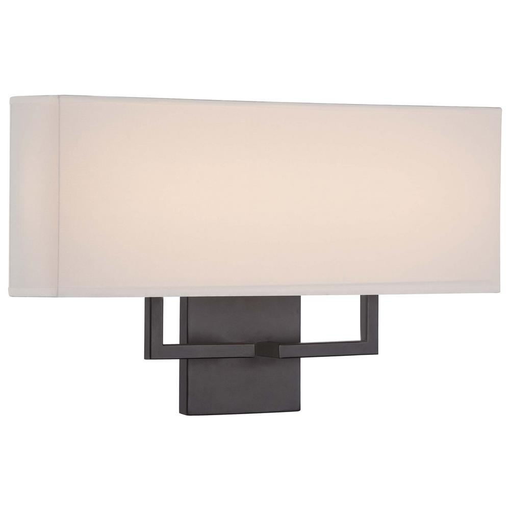 22-Watt Bronze Integrated LED Wall Sconce