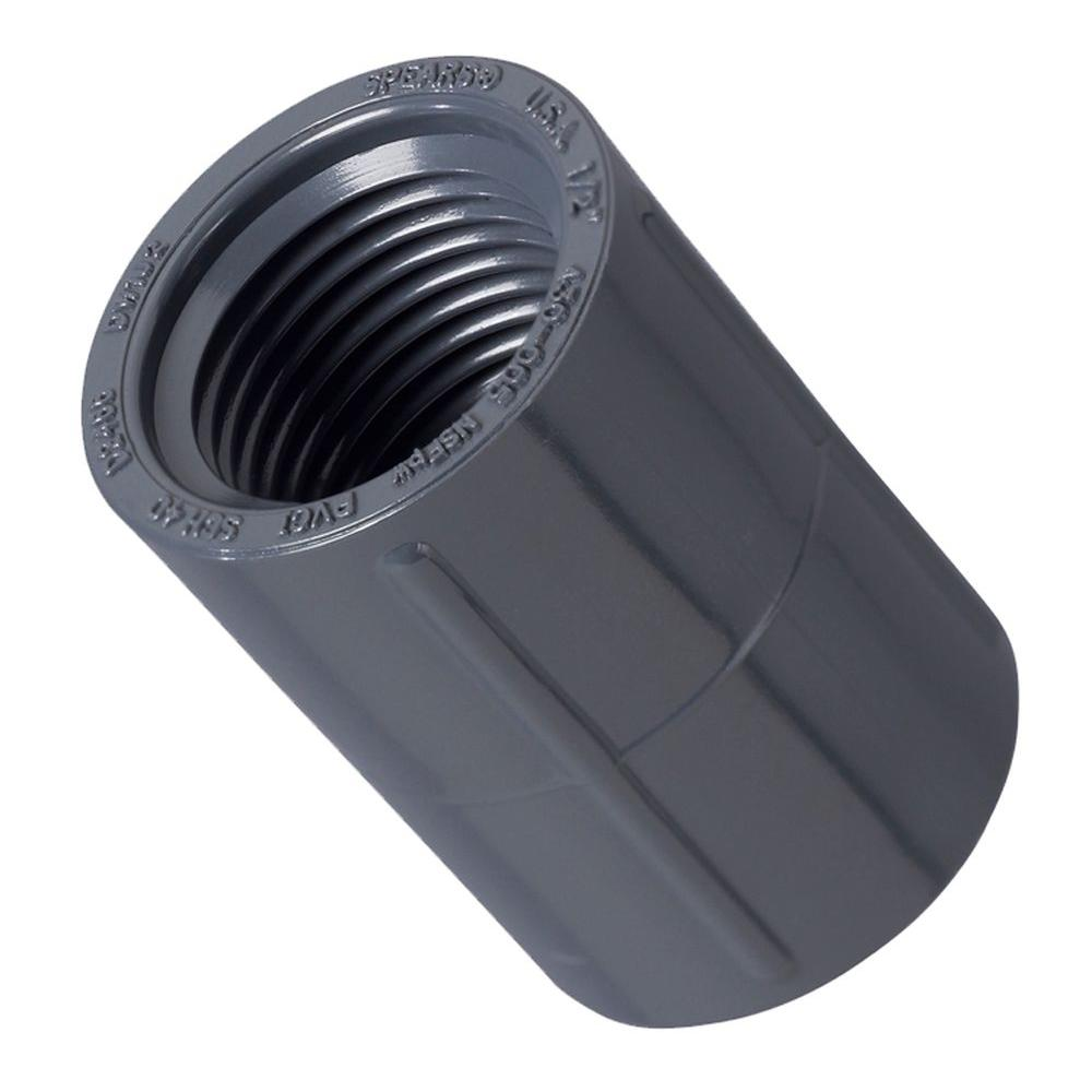 In pvc fnpt coupling the home depot