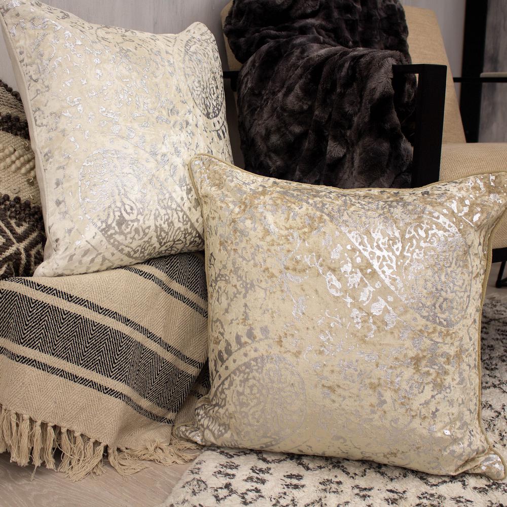 Ashlyn Ivory Decorative Pillow