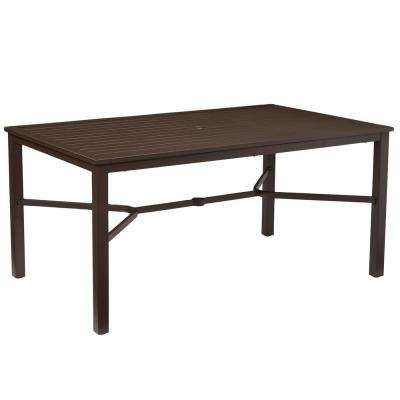 Patio Dining Tables Patio Tables The Home Depot - Outdoor rectangular coffee table cover