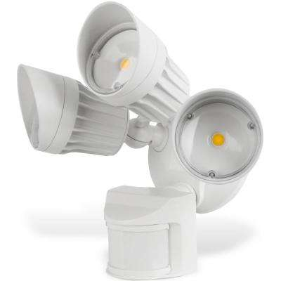 Security Light 30-Watt 180-Degree White Motion Activated Outdoor Integrated LED Flood Light