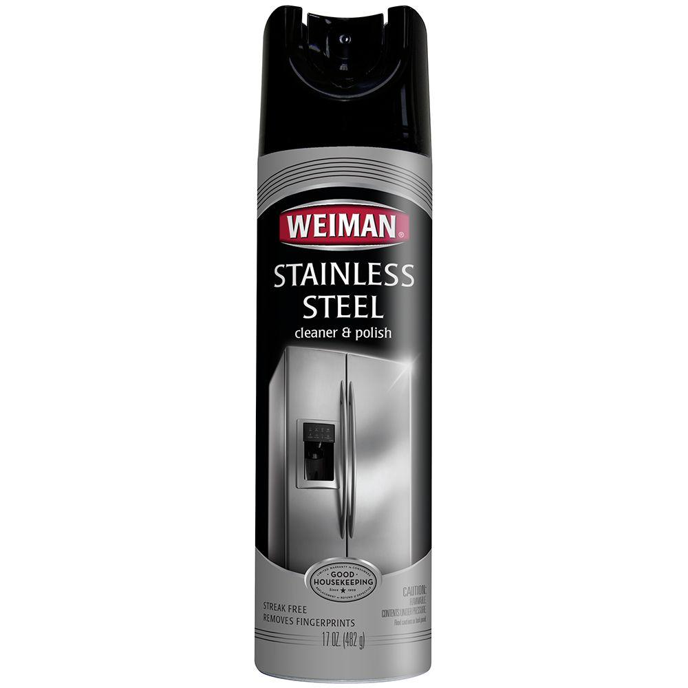 Stainless Steel Cleaner And Polish Aerosol