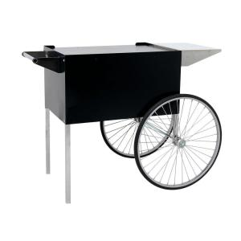 Professional 12 and 16 oz. Popcorn Cart