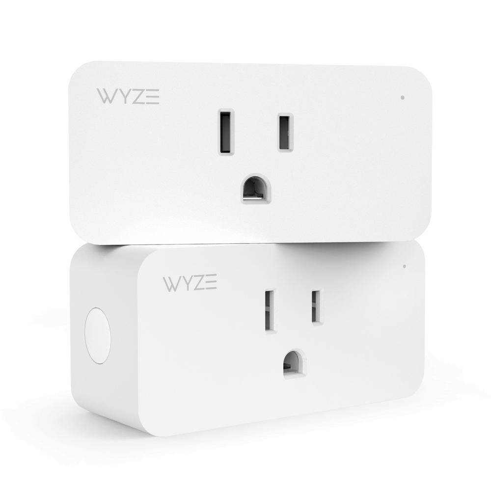 Wyze Wi-Fi Smart Plug (2-Pack)