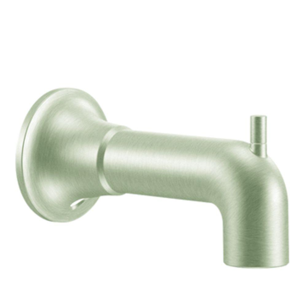 Icon Diverter Tub Spout in Brushed Nickel
