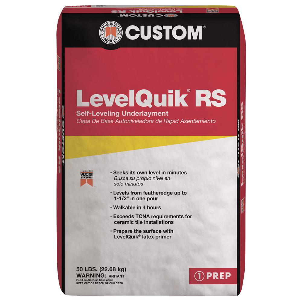 LevelQuik RS 50 lb. Self-Leveling Underlayment Quikrete