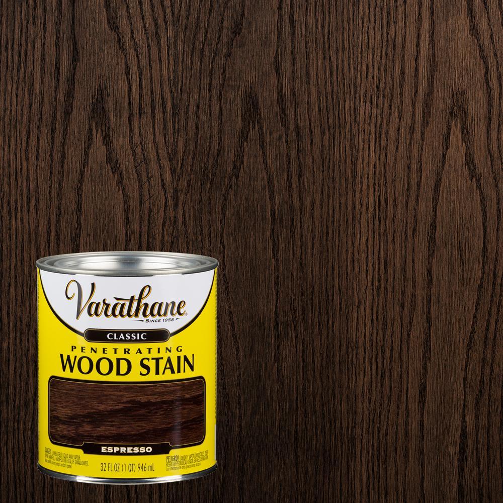 Varathane 1 qt. Espresso Classic Wood Interior Stain