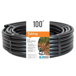 1/2 in. (0.700 O.D.) x 100 ft. Poly Drip Tubing