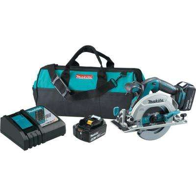 18-Volt LXT Lithium-Ion Brushless 6-1/2 in. Cordless Circular Saw Kit