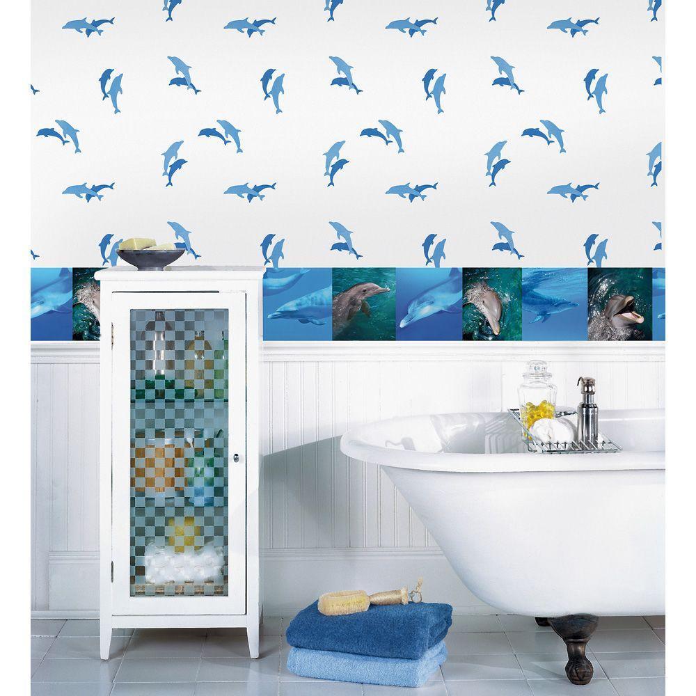 Dolphins Wallpaper Border
