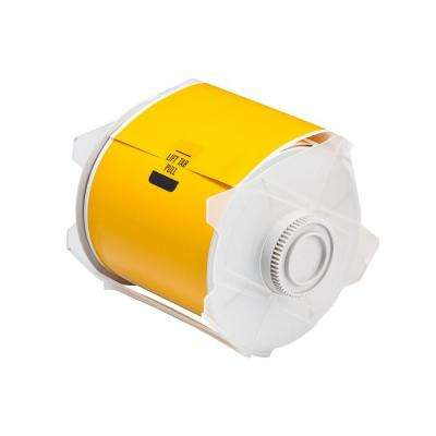 Indoor/Outdoor Yellow Polyester Tape