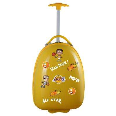 NBA Los Angeles Lakers Yellow 18 in. Kids Pod Luggage