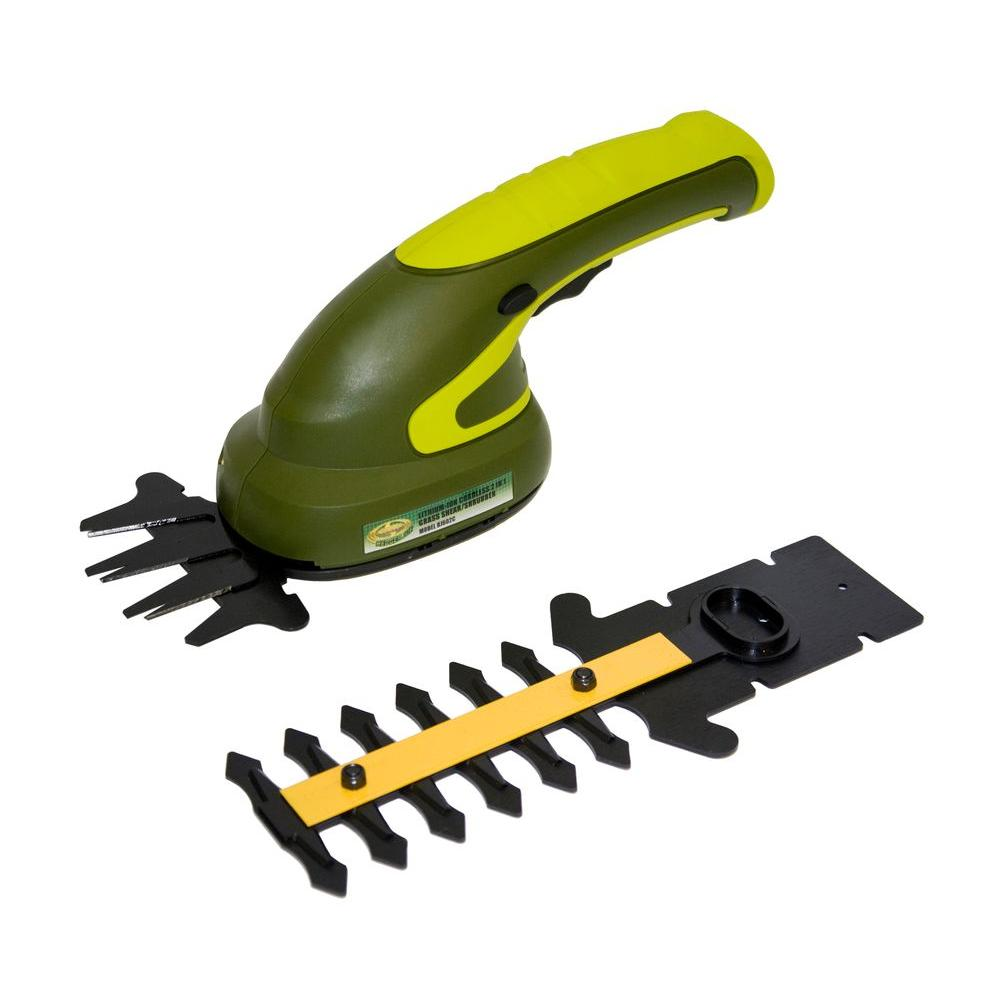 Sun Joe Reconditioned 5 in. 3.6-Volt Lithium-ion Handheld Cordless Hedge Trimmer