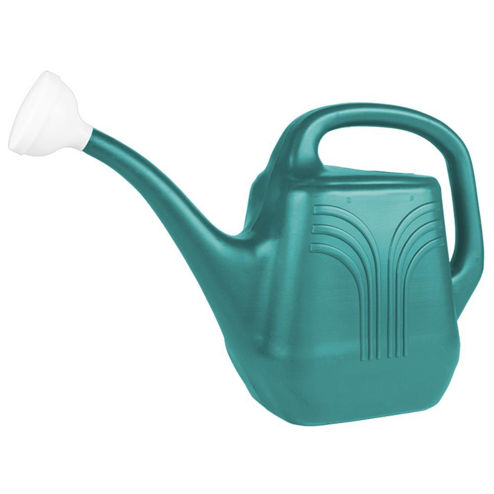 Classic 2 Gal. Bermuda Teal Plastic Watering Can